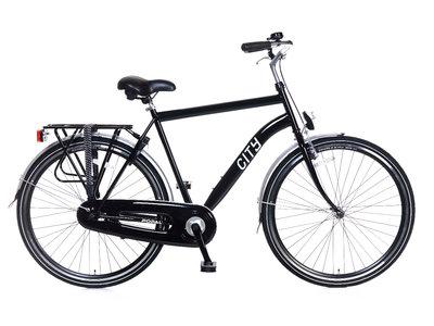 Popal Citybike heren 28 inch frame 49 cm zwart